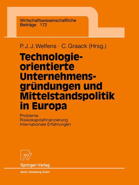 Technologieorientierte Unternehmensgründungen und Mittelstandspolitik in Europa - Coverbild