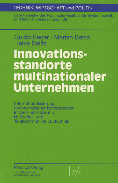 Innovationsstandorte multinationaler Unternehmen - Coverbild
