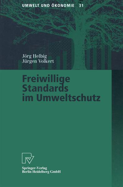 Freiwillige Standards im Umweltschutz - Coverbild