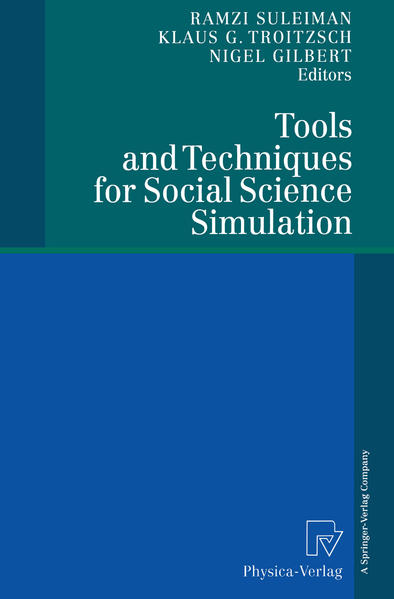 Tools and Techniques for Social Science Simulation - Coverbild