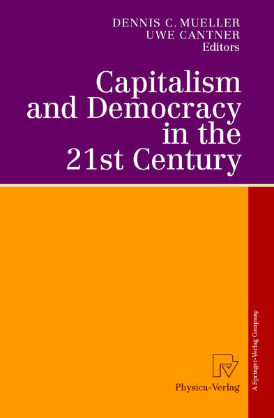 Capitalism and Democracy in the 21st Century - Coverbild