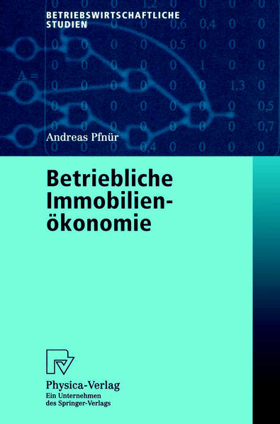 Betriebliche Immobilienökonomie - Coverbild