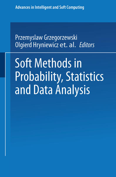 Soft Methods in Probability, Statistics and Data Analysis - Coverbild