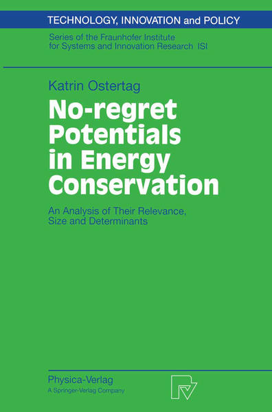 No-regret Potentials in Energy Conservation - Coverbild