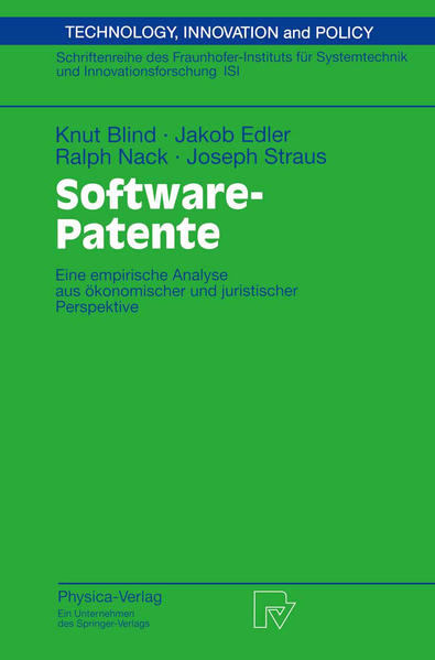 Software-Patente - Coverbild