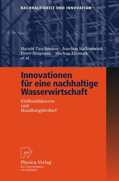 Innovationen für eine nachhaltige Wasserwirtschaft - Coverbild