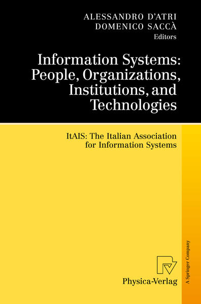 Information Systems: People, Organizations, Institutions, and Technologies - Coverbild