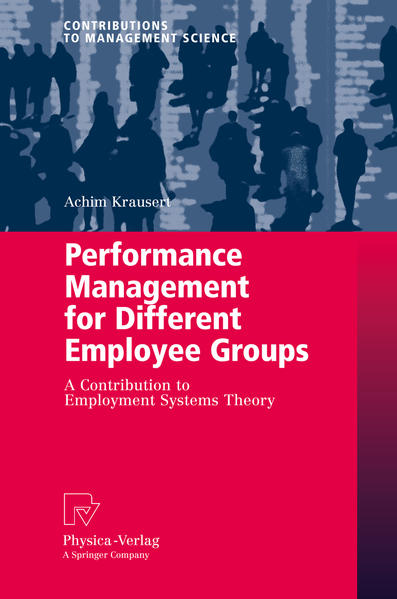 Performance Management for Different Employee Groups - Coverbild