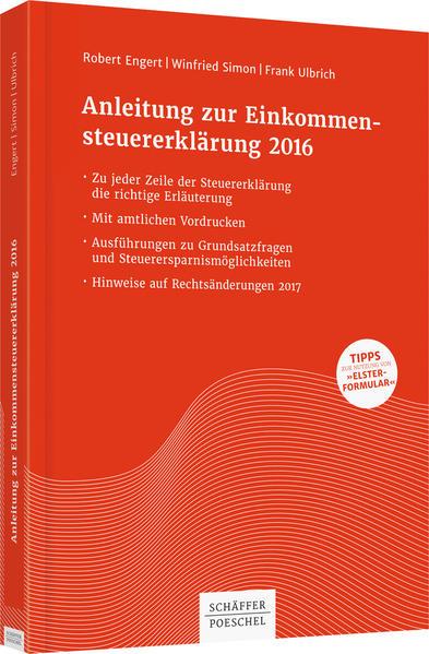 Anleitung zur Einkommensteuererklärung 2016 - Coverbild