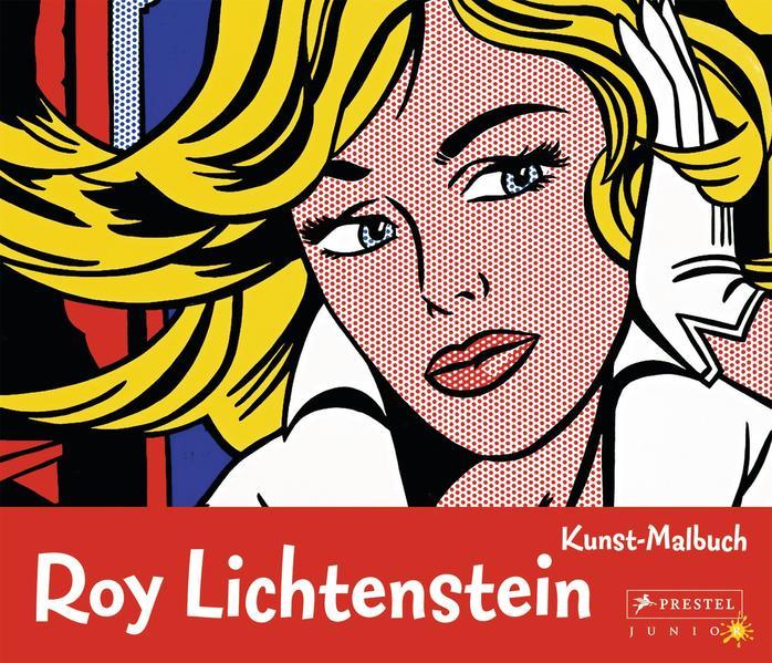 Kunst-Malbuch: Roy Lichtenstein - Coverbild