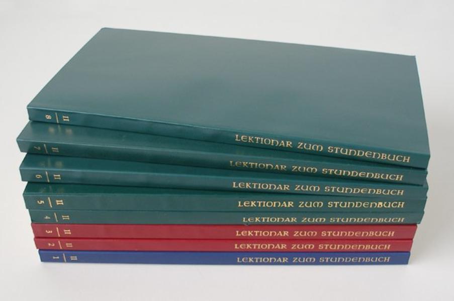 Lektionar zur Feier des Stundengebetes / Lektionar zum Stundenbuch II/6 - Coverbild