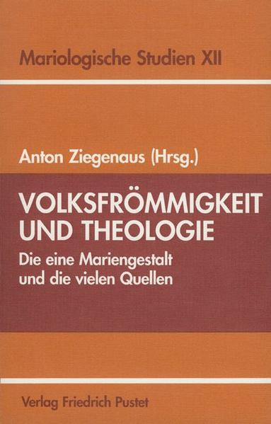Volksfrömmigkeit und Theologie - Coverbild