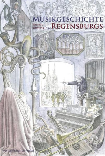 Musikgeschichte Regensburgs - Coverbild