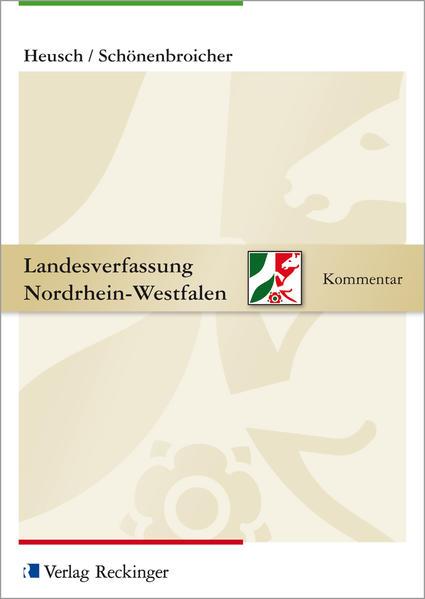Landesverfassung Nordrhein-Westfalen – Kommentar - Coverbild