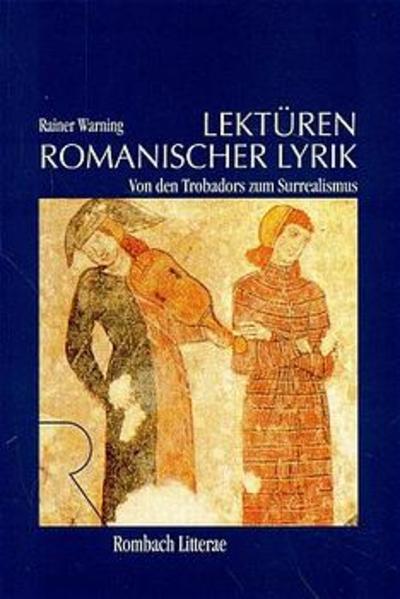 Lektüren romanischer Lyrik - Coverbild