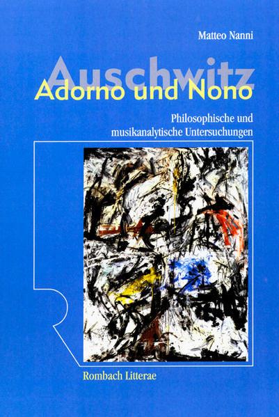 Auschwitz – Adorno und Nono - Coverbild
