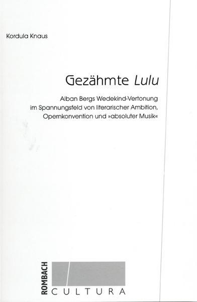 Gezähmte Lulu - Coverbild