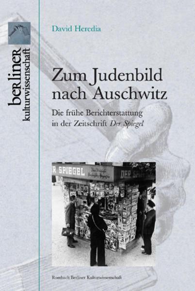 Zum Judenbild nach Auschwitz - Coverbild