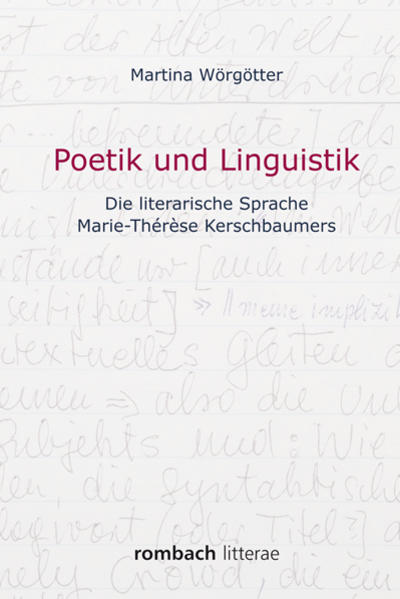 Poetik und Linguistik - Coverbild