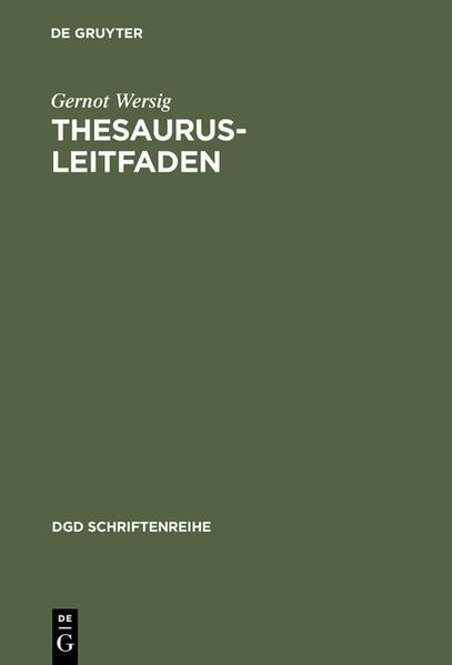 Thesaurus-Leitfaden - Coverbild