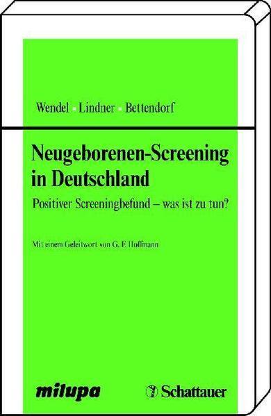 Neugeborenen-Screening in Deutschland - Coverbild