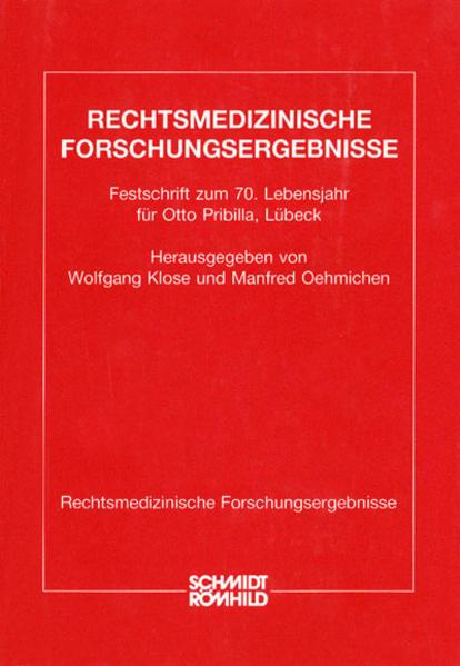 Festschrift für Pribilla - Coverbild