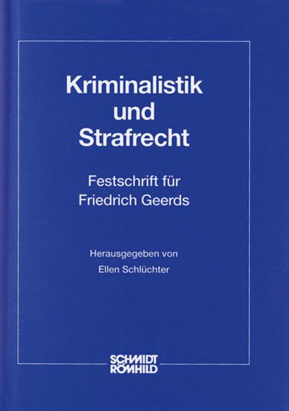 Kriminalistik und Strafrecht - Coverbild