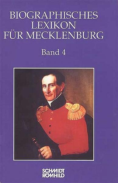 Biographisches Lexikon für Mecklenburg / Biographisches Lexikon für Mecklenburg - Coverbild