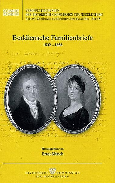 Boddiensche Familienbriefe 1802-1856 - Coverbild