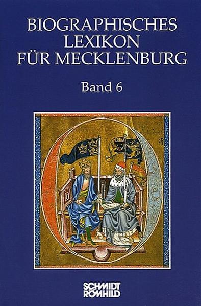 Biographisches Lexikon für Mecklenburg Band 6 - Coverbild