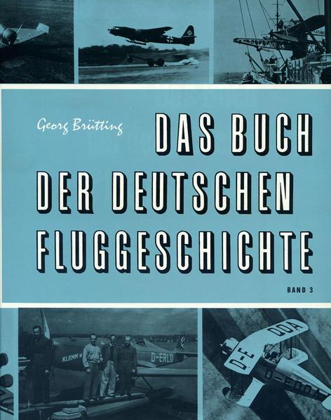 Das Buch der deutschen Fluggeschichte - Coverbild