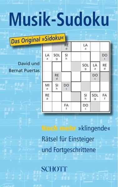 Musik-Sudoku - Coverbild