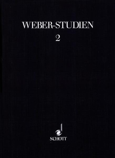 Weber-Studien 2 - Coverbild