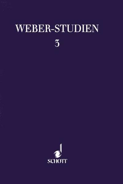 Weber-Studien 3 - Coverbild