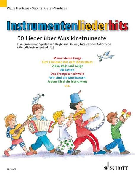 Instrumentenliederhits - Coverbild