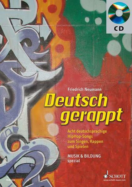 Deutsch gerappt - Coverbild