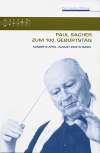 Paul Sacher zum 100. Geburtstag - Coverbild