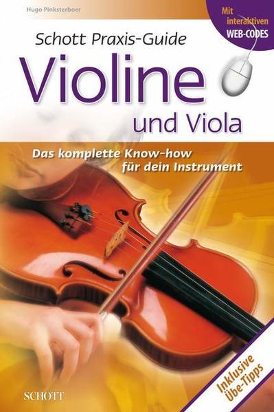 Praxis-Guide Violine und Viola - Coverbild