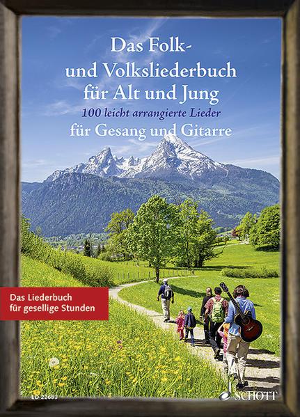 Das Folk- und Volksliederbuch für Alt und Jung - Coverbild