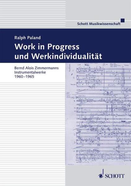 Work in Progress und Werkindividualität - Coverbild