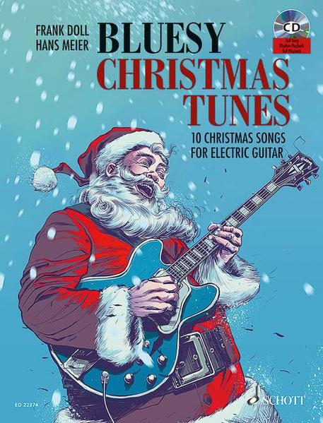 Bluesy Christmas Tunes - Coverbild