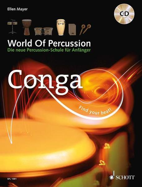 World Of Percussion: Conga - Coverbild