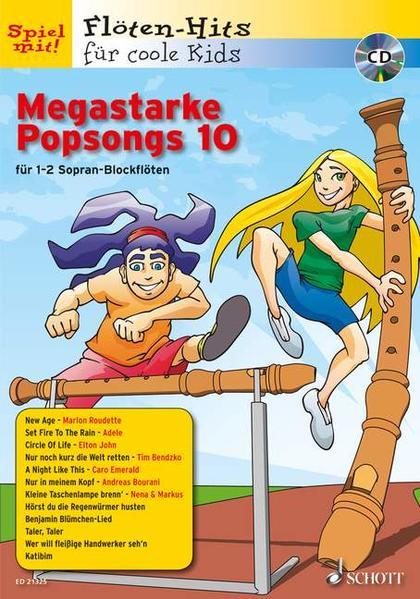 Megastarke Popsongs - Coverbild