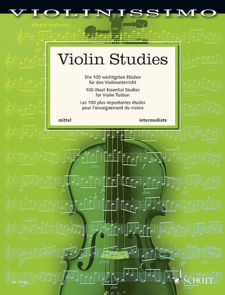Violin Studies - Coverbild
