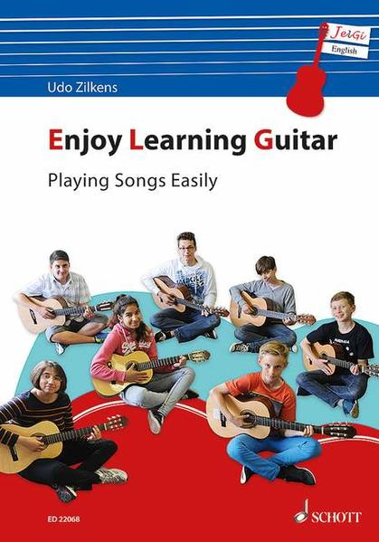 Enjoy Learning Guitar - Playing Songs Easily - Coverbild