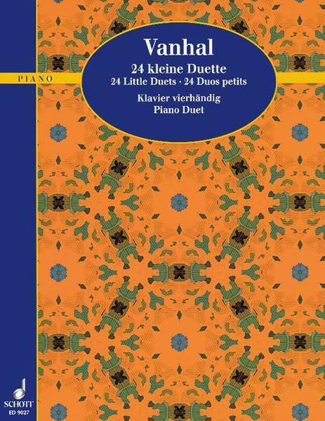 24 kleine Duette - Coverbild