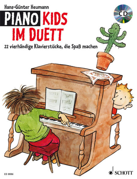 Piano Kids im Duett - Coverbild