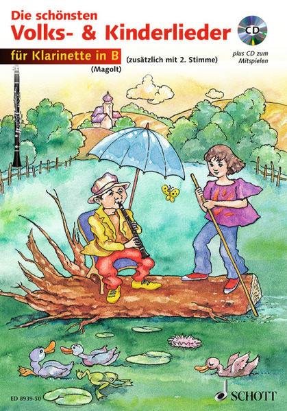 Die schönsten Volks- und Kinderlieder - Coverbild