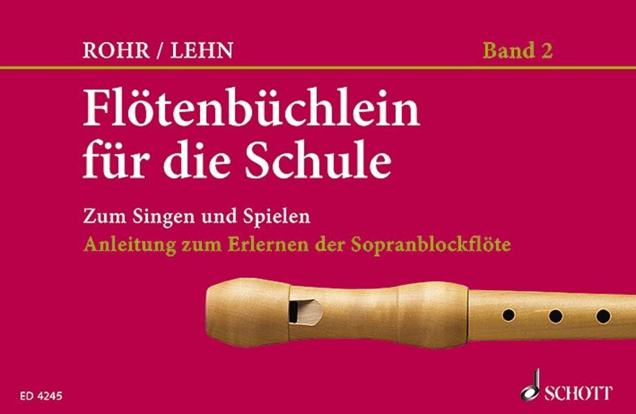 Flötenbüchlein - Coverbild