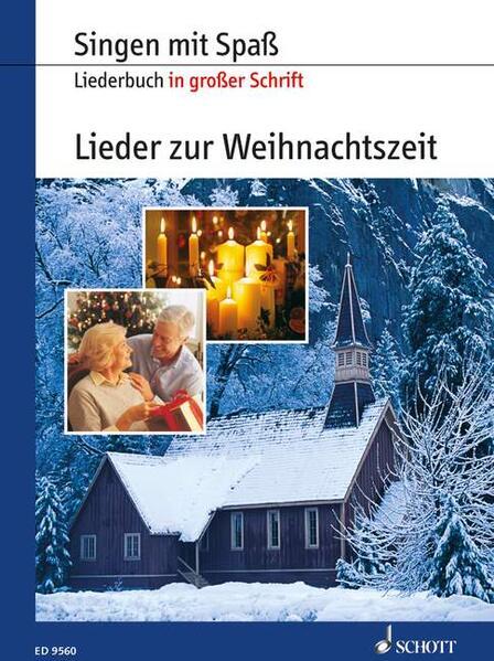 Lieder zur Weihnachtszeit - Coverbild